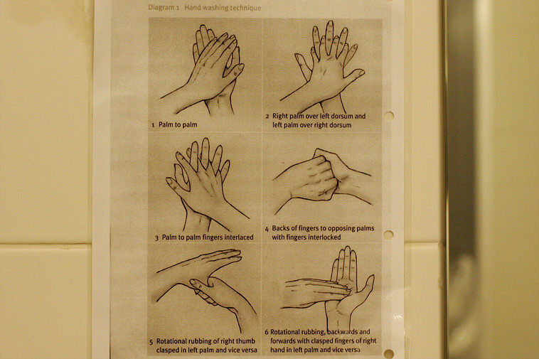 British Curiosities: How to Wash Your Hands, May 2006