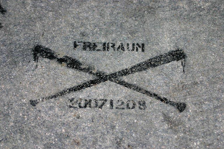 Niemandsland, March 2008