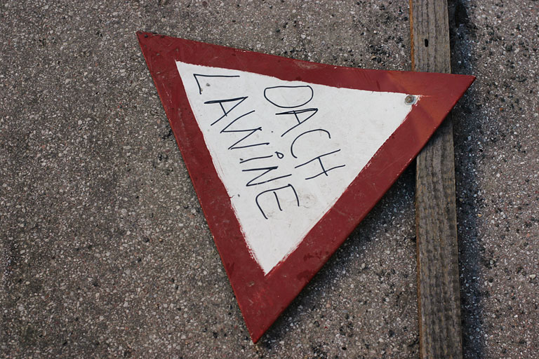 Avalanche Victim, December 2005