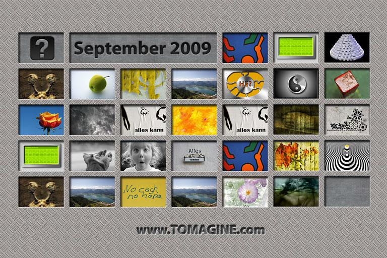 Design Study: Tomagine Reloaded / Metal, September 2009